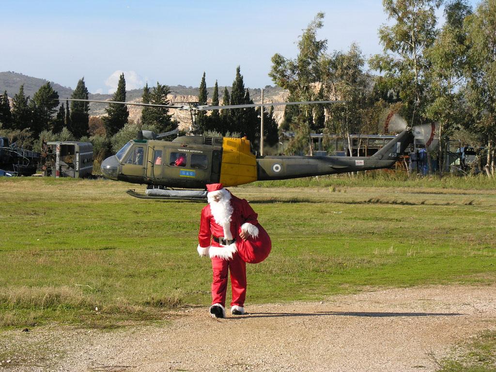 Χριστούγεννα 2005 Αεροπορία